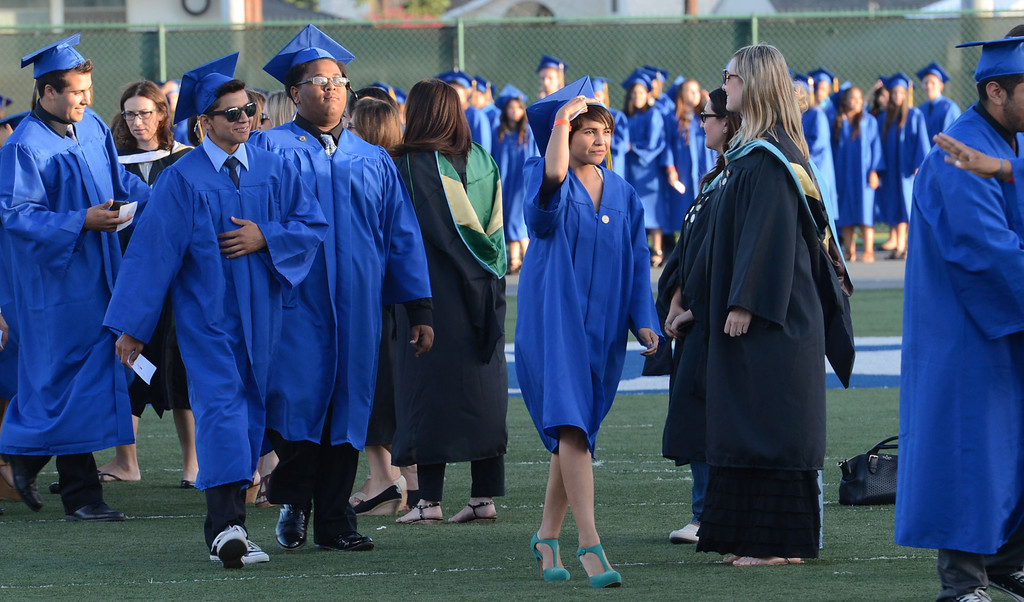 . The Warren High School Commencement Ceremony, at Cerritos College.  Norwalk Calif., Thursday June19,  2014.     (Photo by Stephen Carr / Daily Breeze)