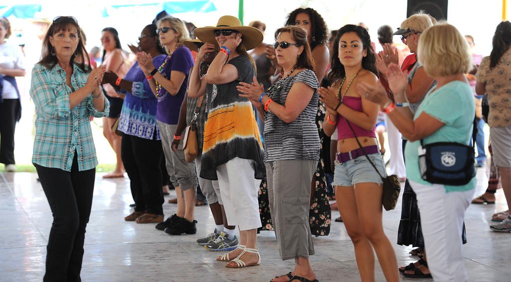 . The 28th Annual Long Beach Bayou Festival,  at Rainbow Lagoon Long Beach Calif.,  Saturday June 21,  2014.     (Photo by Stephen Carr / Daily Breeze)