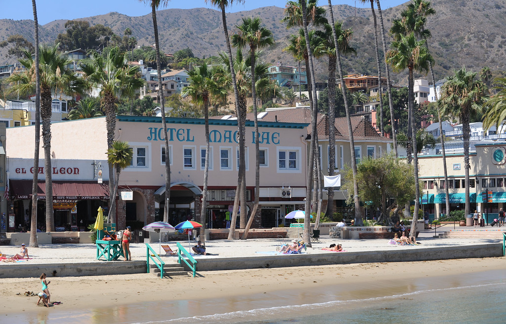 . Avalon, Calif., -- 09-04-13-  The city of Avalon, on Catalina Island,  still has quaint beach homes and shops. This year Avalon turns 100.    Stephen Carr/  Press-Telegram