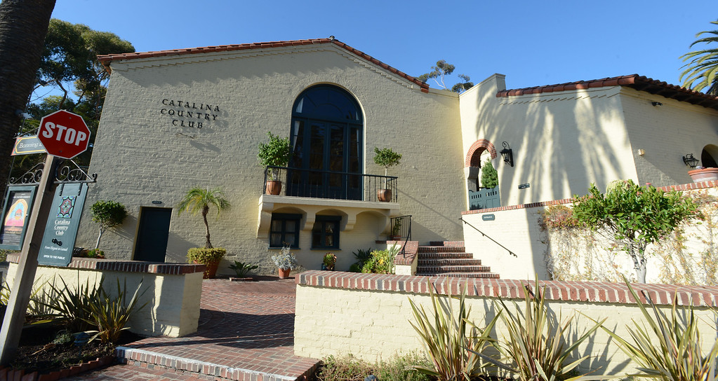 . Avalon, Calif., -- 09-04-13-  The Catalina Country Club hosts weddings and private events.  The city of Avalon, on Catalina Island,  still has quaint beach homes. This year Avalon turns 100.    Stephen Carr/  Press-Telegram