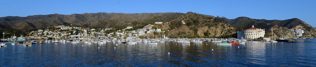 . Avalon, Calif., -- 09-04-13-  The city of Avalon, on Catalina Island. This year Avalon turns 100.    Stephen Carr/  Press-Telegram