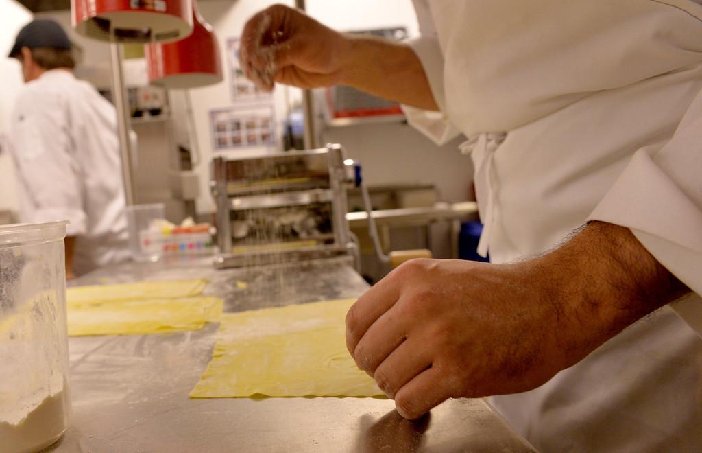 . Chianina Steak in Long Beach, CA. December 18, 2013. The new restaurant will open on December 27th. (Thomas R. Cordova/Press-Telegram/Daily Breeze)
