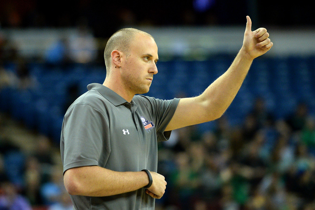 . Chaminade coach Todd Wolfson likes what his team is doing. (Photo by Michael Owen Baker/L.A. Daily News)