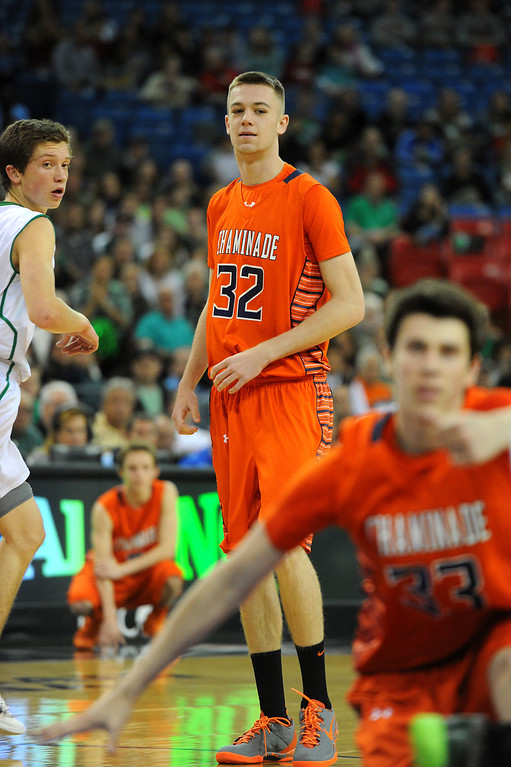 . Chaminade\'s Jack Williams comes into the game in the final minute of the CIF-State Division III Finals after sitting out because of illness. (Photo by Michael Owen Baker/L.A. Daily News)