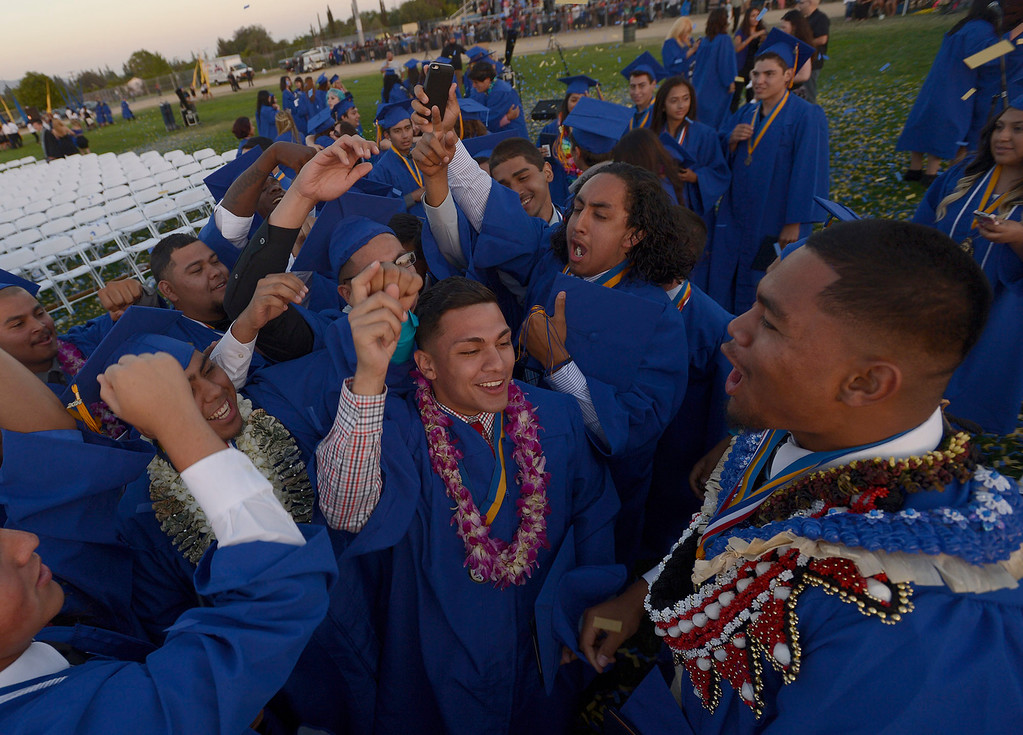 . John H. Francis Polytechnic High School graduation for the class of 2014. Los Angeles, CA. 6/5/2014(Photo by John McCoy Daily News)