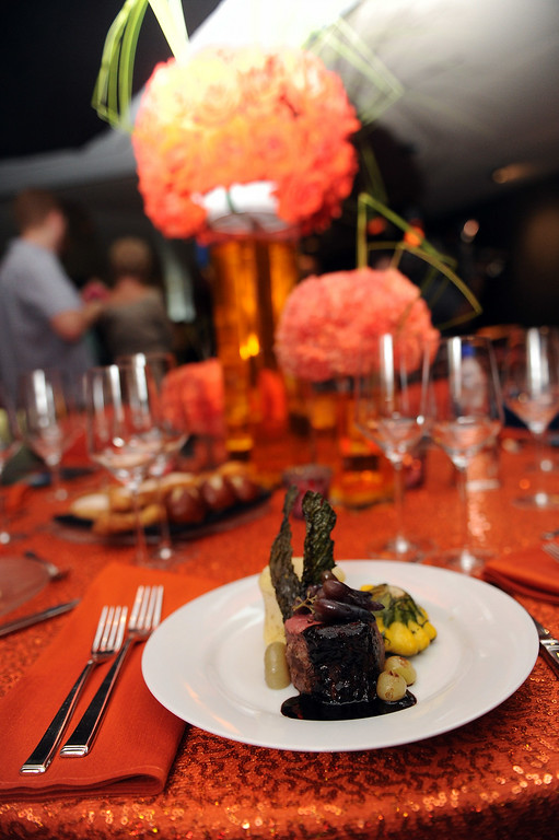 . Food during the 66th Emmy Awards Governors Ball sneak peek press preview at Television Academy, Leonard H. Goldenson Theatre in North Hollywood Wednesday, July 23, 2014. (Hans Gutknecht/Los Angeles Daily News)