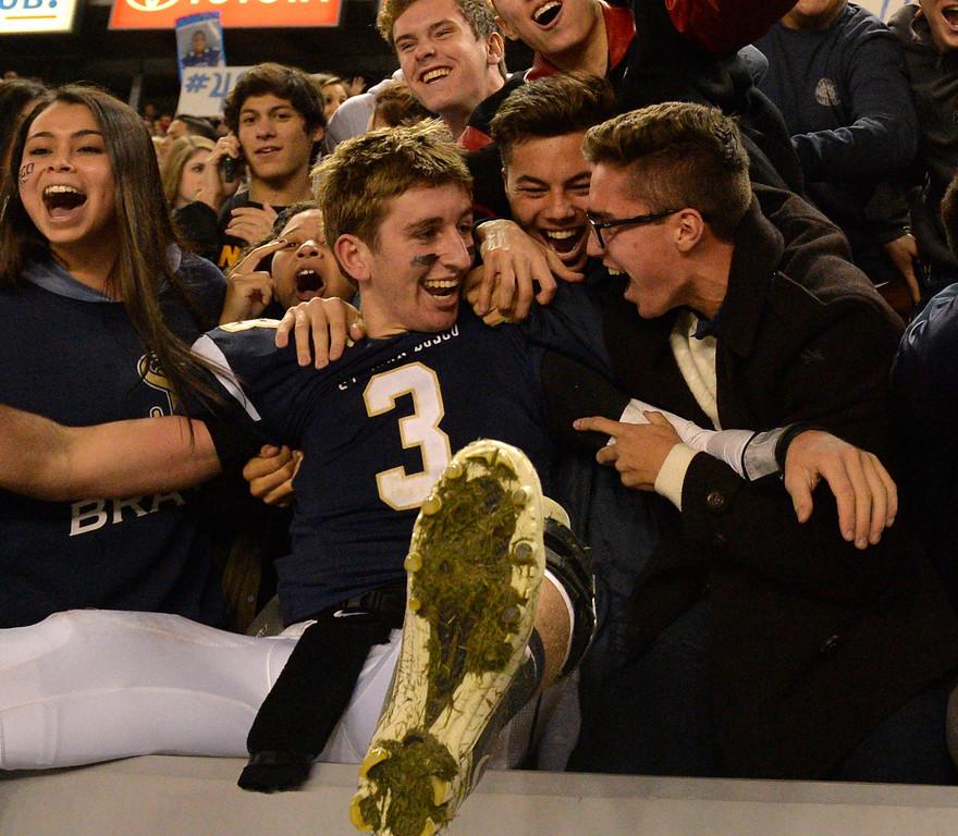 . St. John Bosco beat De La Salle in the CIF State Football Bowl Championships Saturday, December 21, 2013, at the Stub Hub Center in Carson, CA. Bosco won 20-14.(Thomas R. Cordova/Press-Telegram/Daily Breeze)