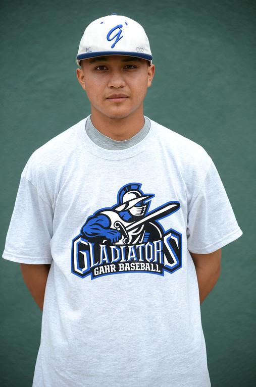 . Long Beach, Calif., -- 06-12-13- All Area Baseball - Jaime Estrada of Gahr.    Stephen Carr/  Los Angeles Newspaper Group
