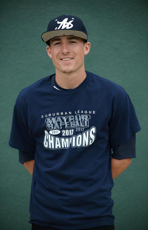 . Long Beach, Calif., -- 06-12-13- All Area Baseball - Kyle Carpenter of Mayfair    Stephen Carr/  Los Angeles Newspaper Group