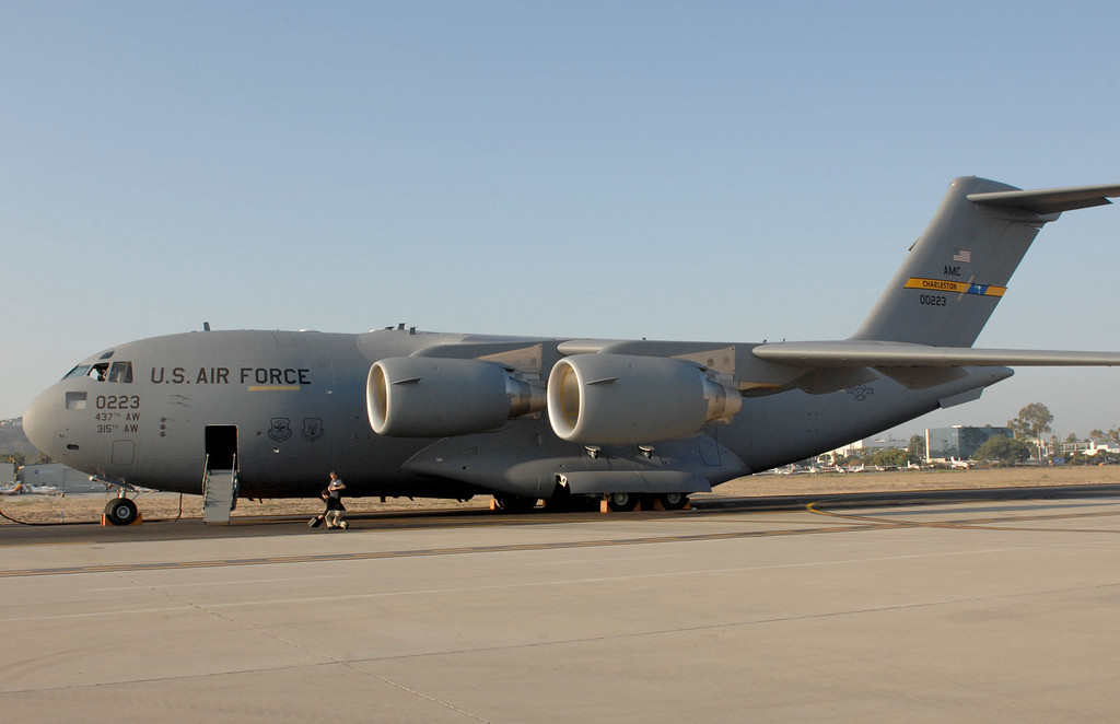 . 9/12/13 - Boeing delivered the last U.S. Air Force C-17 Globemaster III, fulfilling the production contract, on Thursday morning. (Photo by Brittany Murray/Press Telegram)