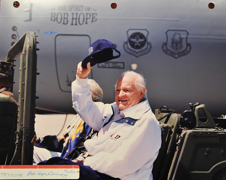 ". 8/23/13 - On April 22, 1997 Boeing Christened a C17 ""THE SPIRIT OF BOB HOPE\""  Many of the employees that attended that ceremony hold it as one of their fondest memories at the company. Boeing prepares to deliver the last domestic C-17 on Sept. 12 to Charleston, S.C., home of the first C-17."