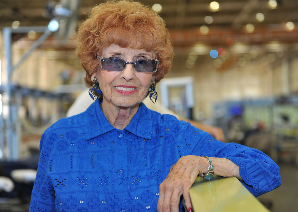 . 8/29/13 - Elinor Otto an aircraft mechanic.  Boeing prepares to deliver the last domestic C-17 on Sept. 12 to Charleston, S.C., home of the first C-17.  Photo by Brittany Murray, Press Telegram