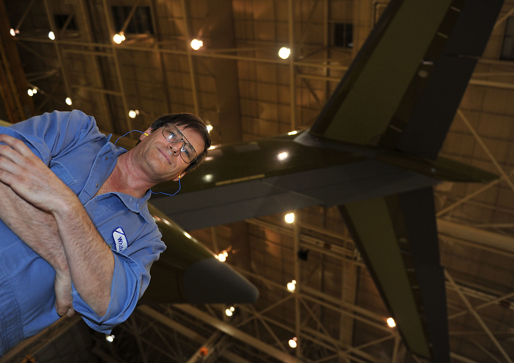 . 8/29/13 - Willie White, aircraft hidrolyc  mechanic has been with Boeing 28 years. Boeing prepares to deliver the last domestic C-17 on Sept. 12 to Charleston, S.C., home of the first C-17.  Photo by Brittany Murray, Press Telegram