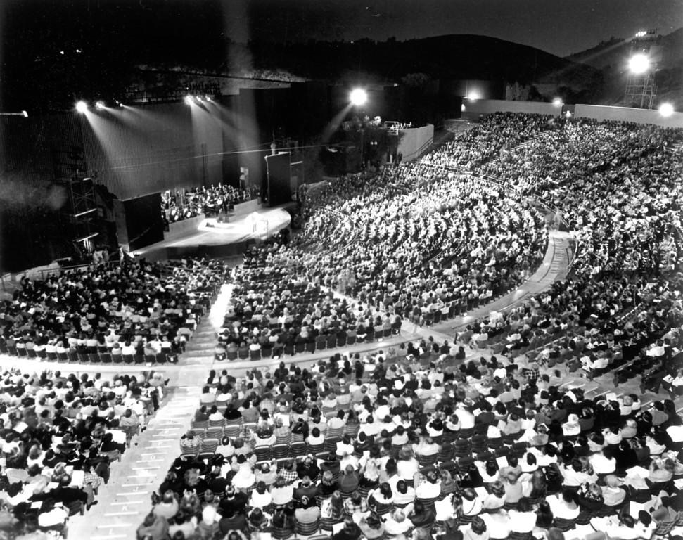 . 1977: Universal Amphitheatre   Daily News file photo
