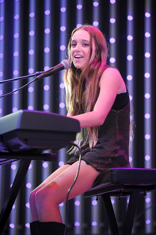 . Heather Russell performs at 5 Towers at Universal CityWalk. Friday, July 6, 2013. (Michael Owen Baker/L.A. Daily News)