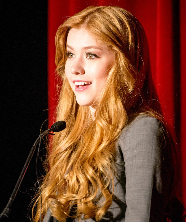 . Cartoon Network performer Kat McNamara attends an anti-bullying rally at Katherine Edwards Middle School in West Whittier Sept. 23, 2013.  (Staff photo by Leo Jarzomb/SGV Tribune)