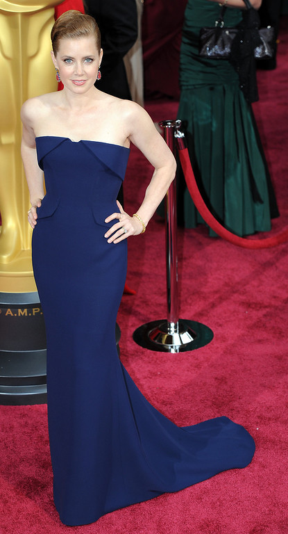 . Amy Adams attends the 86th Academy Awards at the Dolby Theatre in Hollywood, California on Sunday March 2, 2014 (Photo by John McCoy / Los Angeles Daily News)