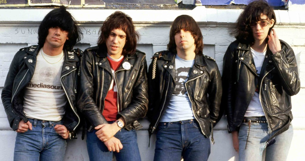 . 1980s: The Ramones.  (Sire Records)
