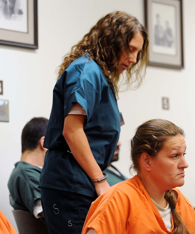 . A former Redlands high school teacher charged with committing sex acts with students - including one who allegedly fathered her baby - accepted a plea bargain today in court.LaFonzo Carter/ Staff Photographer