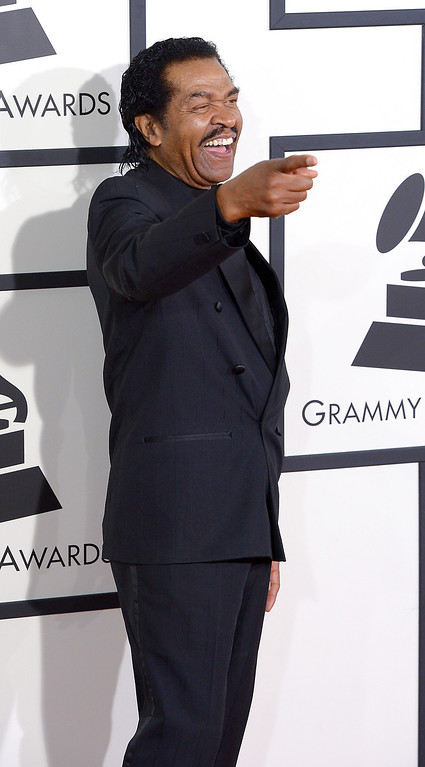 . Bobby Rush arrives at the 56th Annual GRAMMY Awards at Staples Center in Los Angeles, California on Sunday January 26, 2014 (Photo by David Crane / Los Angeles Daily News)