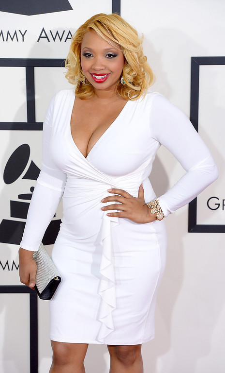 . Chef Huda arrives at the 56th Annual GRAMMY Awards at Staples Center in Los Angeles, California on Sunday January 26, 2014 (Photo by David Crane / Los Angeles Daily News)
