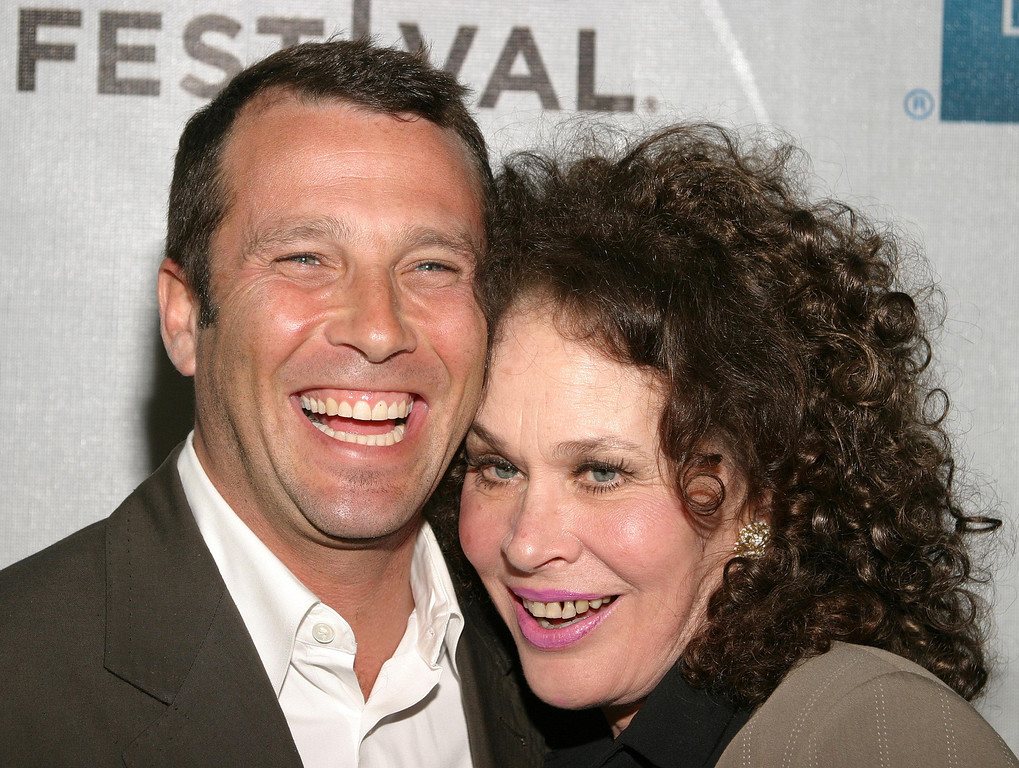 ". NEW YORK - MAY 5:  Writer/director Paul Black (L) and actress Karen Black attend the world premiere of the ""America Brown\"" screening during the Tribeca Film Festival May 5, 2004 in New York City. (Photo by Thos Robinson/Getty Images)"