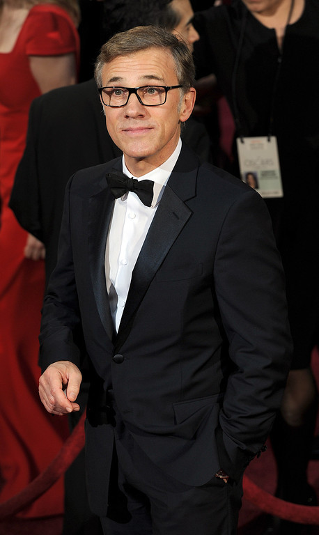 . Christoph Waltz attends the 86th Academy Awards at the Dolby Theatre in Hollywood, California on Sunday March 2, 2014 (Photo by John McCoy / Los Angeles Daily News)