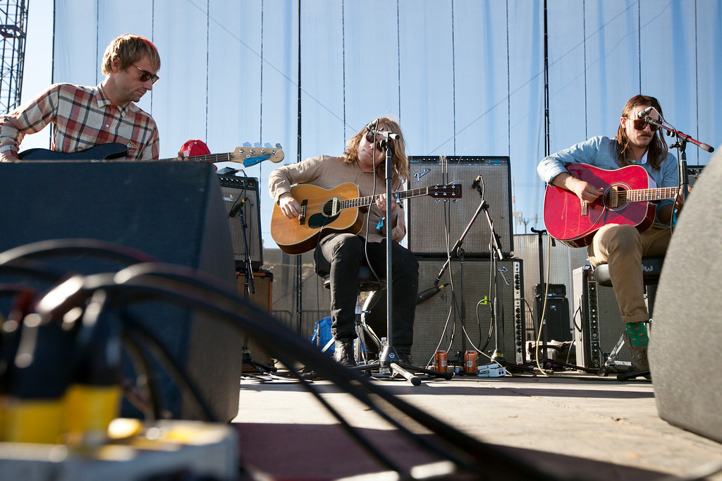 . Ty Segall performs at the FYF Fest in downtown L.A., Saturday, August 24, 2013. (Michael Owen Baker/L.A. Daily News)