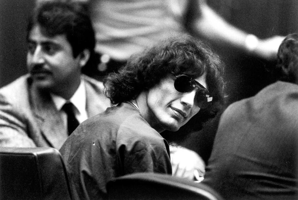 . Richard Ramirez in court.  (Daily News file photo)