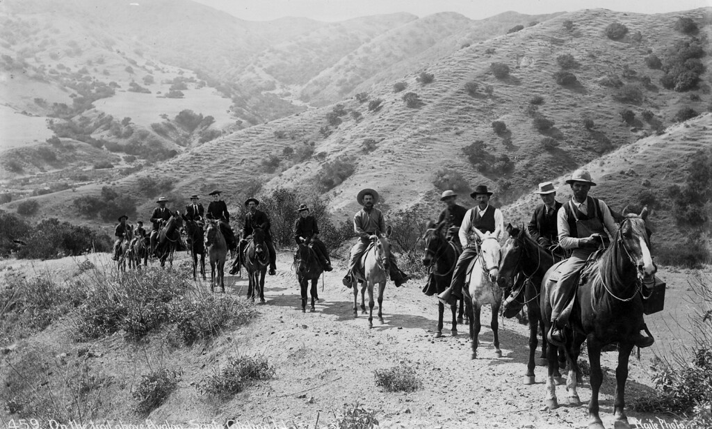 . Riding on the island Photo Courtesy Catalina Island Museum