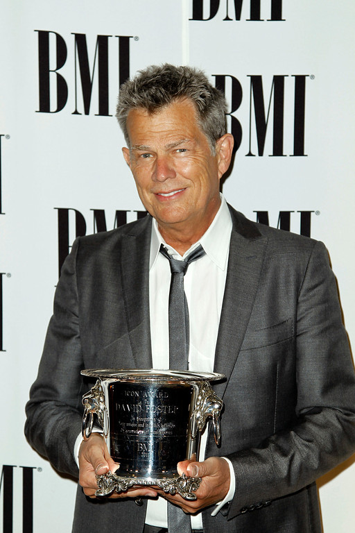 . Honoree David Foster arrives at the 59th Annual BMI Pop Music Awards in Beverly Hills, Calif., Tuesday, May 17, 2011.  The songwriters and publishers of the most performed pop songs in the United States are honored at this event. (AP Photo/Matt Sayles)