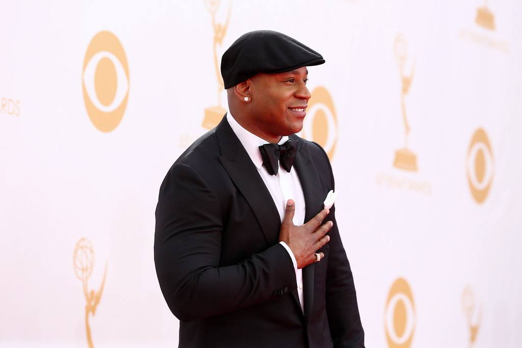 . LL Cool J arrives at the 65th Primetime Emmy Awards at Nokia Theatre on Sunday Sept. 22, 2013, in Los Angeles.  (Photo by Matt Sayles/Invision for Academy of Television Arts & Sciences/AP Images)