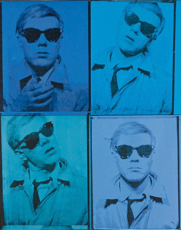 . In this undated photo released by Christie�s Auction House, a circa 1963-64 painting by artist Any Warhol entitled �Self-Portrait� is shown. The painting was sold at auction by Christie�s in New York on Wednesday, May 11, 2011 for $38.4 million. (AP Photo/Christie�s Auction House)