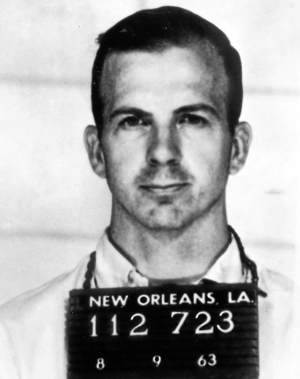 . Lee Harvey Oswald\'s booking photo
