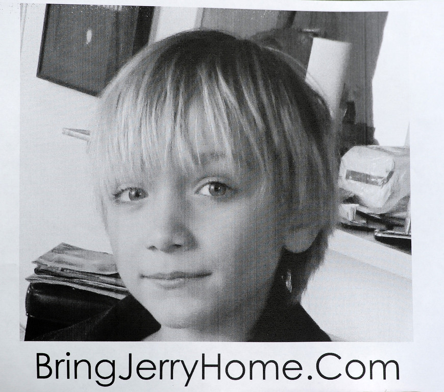 ". 10-year-old Robert ""Jerry\"" Pfeifer, has been missing since June 2012. (Photo by Michael Owen Baker/L.A. Daily News)"