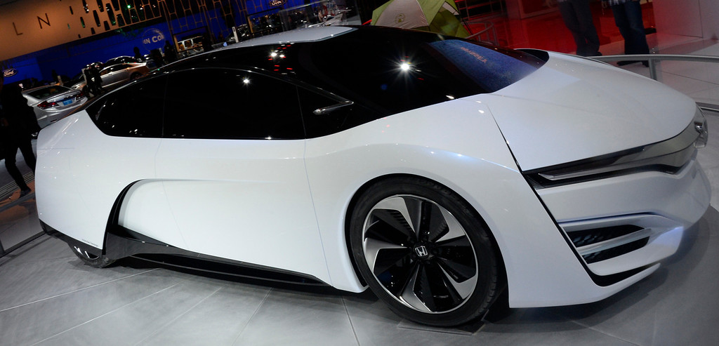 . Nov 22,2013 Los Angeles CA. The Honda FCEV concept car on displays during the 2nd media day at the Los Angeles Auto Show.The show opens today Friday and runs through Dec 1st. Photo by Gene Blevins/LA Daily News