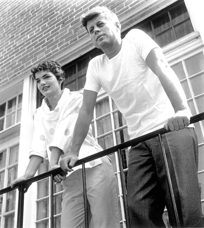 . John F. Kennedy and his wife Jackie.   Los Angeles Daily News file photo