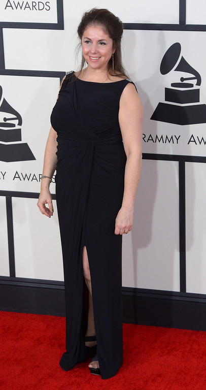 . Danielle Rudess arrives at the 56th Annual GRAMMY Awards at Staples Center in Los Angeles, California on Sunday January 26, 2014 (Photo by David Crane / Los Angeles Daily News)