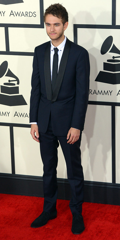 . Zedd arrives at the 56th Annual GRAMMY Awards at Staples Center in Los Angeles, California on Sunday January 26, 2014 (Photo by David Crane / Los Angeles Daily News)