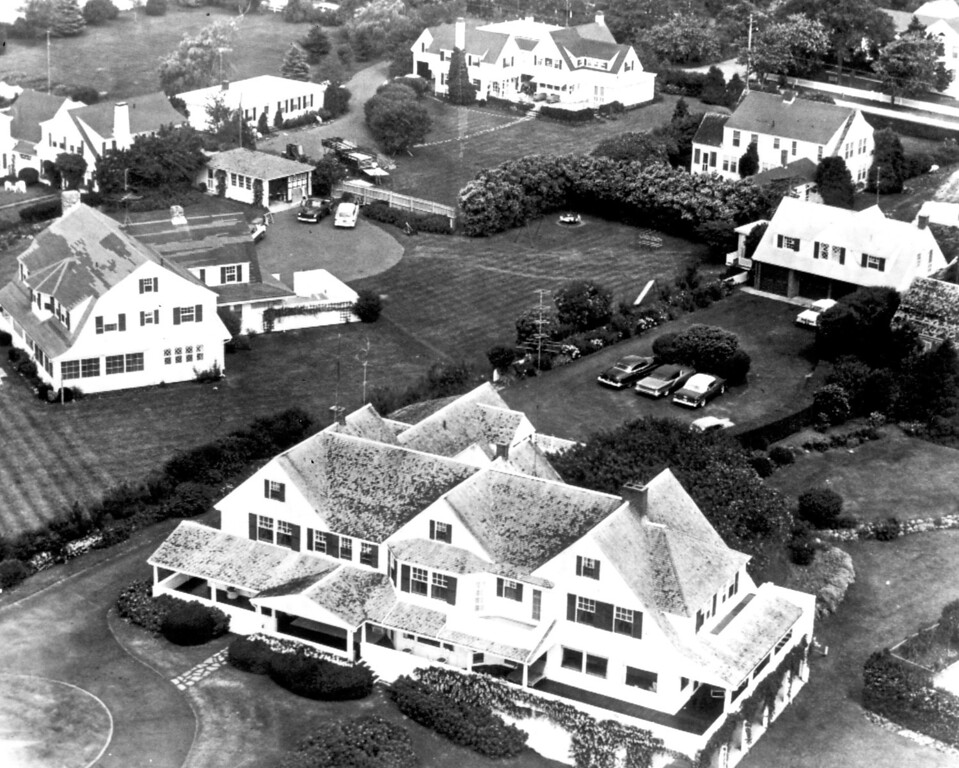 . The Kennedy Family compound at Hyannis Port.   Los Angeles Daily News file photo