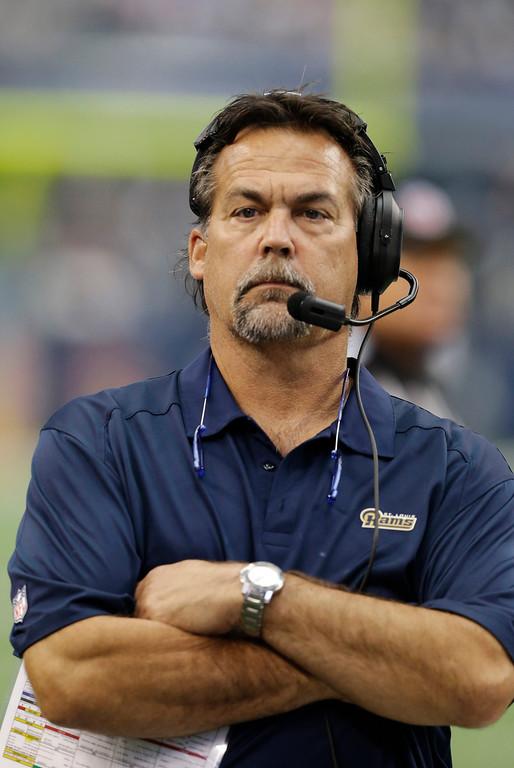 . <b>Jeff Fisher</b> <br />Head coach, St. Louis Rams    (Sept. 22, 2013)  (AP Photo/LM Otero)