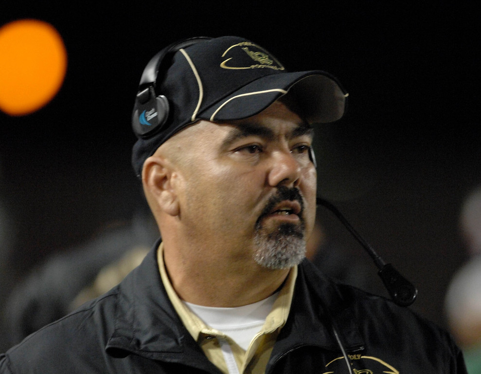 . 10/29/10 - Poly\'s coach Raul Lara. Photo by Brittany Murray / Press Telegram