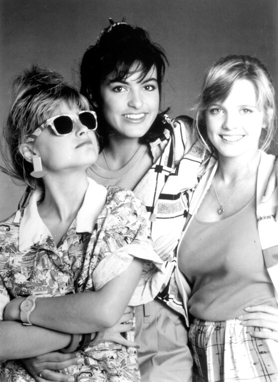 ". Jo Ann Willette, left, Mariska Hargitay and Courtney Thorne-Smith in ""Welcome to 18.\""   Los Angeles Daily News file photo"