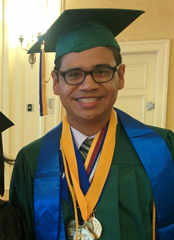 . Name: Carlos Valladares Age: 17 High School: Blair High School GPA: 4.0  High School Activities or Groups: President of Blair Performing Arts Club (BPAC), Vice-President of National Honors Society, Secretary of Blair ASB, Lead Actor in Ovations 2013 and 2014, Secretary of Interact Club (working in conjecture with the Pasadena After-Hours Rotary Club) and Member of IB Club 2014. After Graduation/College Plans: Stanford University Class of 2018, Pursuing a Major in Film Studies and a Minor in American History Career Goal: Film/History Professor or Film Director Parents: Yadira Herrera and Carlos R. Valladares