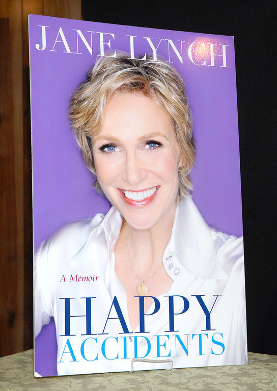 """. RIDGEWOOD, NJ - SEPTEMBER 21: A general view of atmosphere as Jane Lynch promotes the new book \""""Happy Accidents\"""" at Bookends Bookstore on September 21, 2011 in Ridgewood, New Jersey. (Photo by Michael N. Todaro/Getty Images)"""
