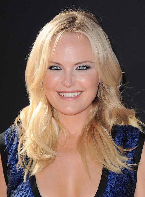 . Actress Malin Akerman arrives at the ESPY Awards on Wednesday, July 17, 2013, at Nokia Theater in Los Angeles. (Photo by Jordan Strauss/Invision/AP)