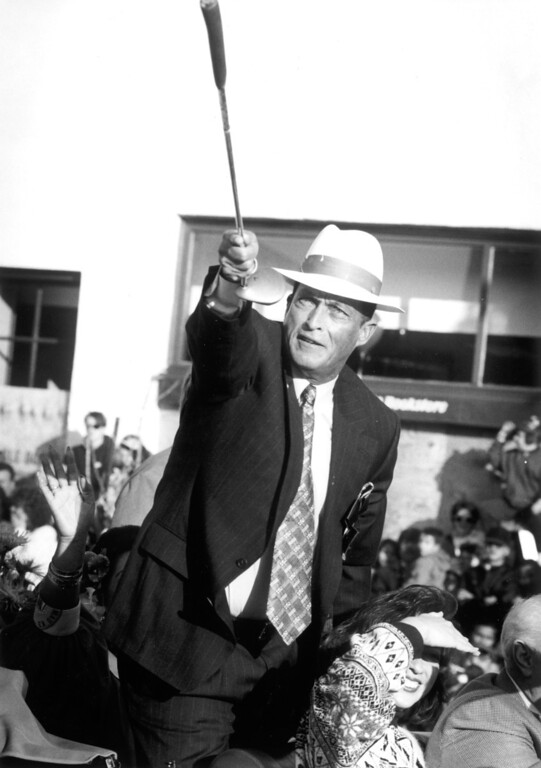 """. 1995 Rose Parade grand marshal, Juan \""""Chi Chi\"""" Rodriguez .   L.A. Daily News file photo"""