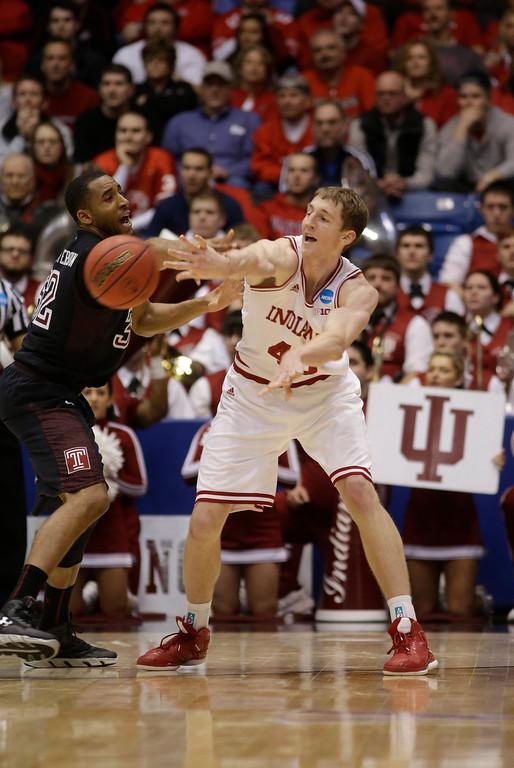 . <b>4. Charlotte - Cody Zeller</b> <br />7-0, 230 Power forward, Indiana (AP Photo/Al Behrman)