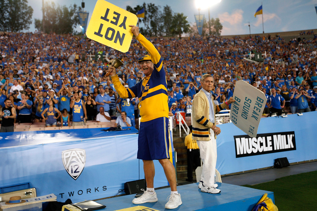 . UCLA against Nevada, Saturday, August 31, 2013, at the Rose Bowl. (Michael Owen Baker/L.A. Daily News)