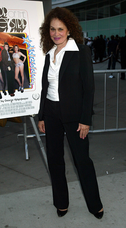 ". HOLLYWOOD - JUNE 17:  Actress Karen Black attends the film premiere of the ""Mayor of the Sunset Strip\"" at the Arclight Cinerama Dome on June 17, 2003 in Hollywood, California.  The film is the Centerpiece Premiere of the Los Angeles Film Festival.  The premiere is sponsored by Gateway, Inc.  (Photo by Frederick M. Brown/Getty Images)"